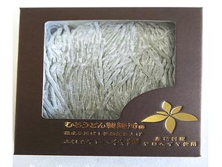 お福さんのひっぱりうどん ふくしまモロヘイヤ麺